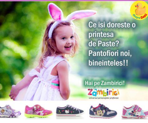Zambiriciri: magazinul de pantofiori pentru printese