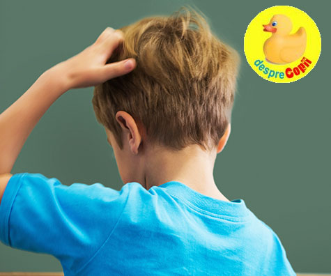 Scapa de paduchi fara sa traumatizezi copilul