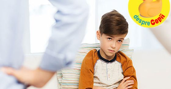 Cum invatam copilul sa spuna Imi pare rau