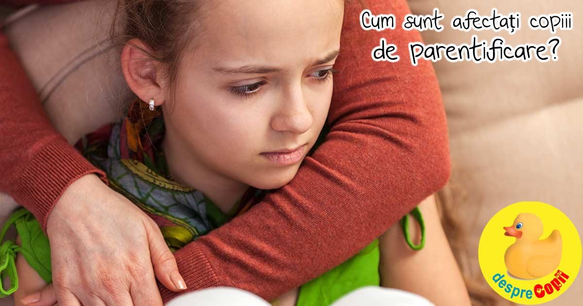 Parentificarea: cum sa-i lasam pe copii sa fie doar copii