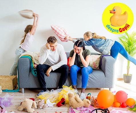 Care sunt mai stresati de parenting: tatii sau mamele, dar de fapt stim raspunsul