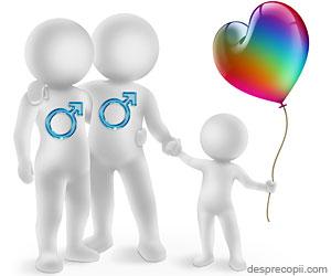 Copiii crescuti de cuplurile de homosexuali au probleme de adaptare sociala
