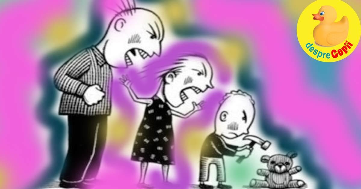 Parentingul toxic si semnalele ca parintii o dau in bara - sfatul psihologilor