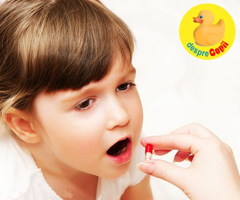 Cum sa iti inveti copilul sa inghita pastile