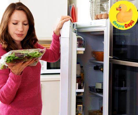 Pastrarea si folosirea corecta a alimentelor pentru bebelusi si copilasi