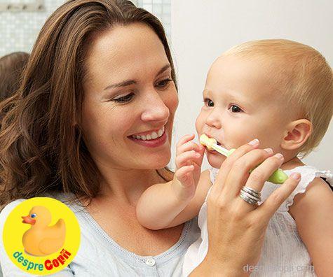 Totul despre periajul dentar al bebelusilor