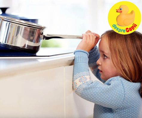 11 reguli pentru prevenirea unor accidente grave copilului mic