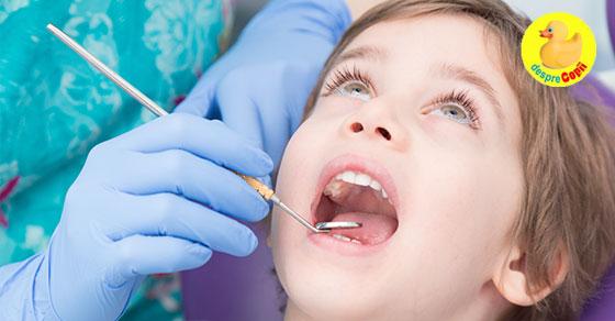 Modificarile de culoare pe dintii de lapte: cauze, tratament si preventie