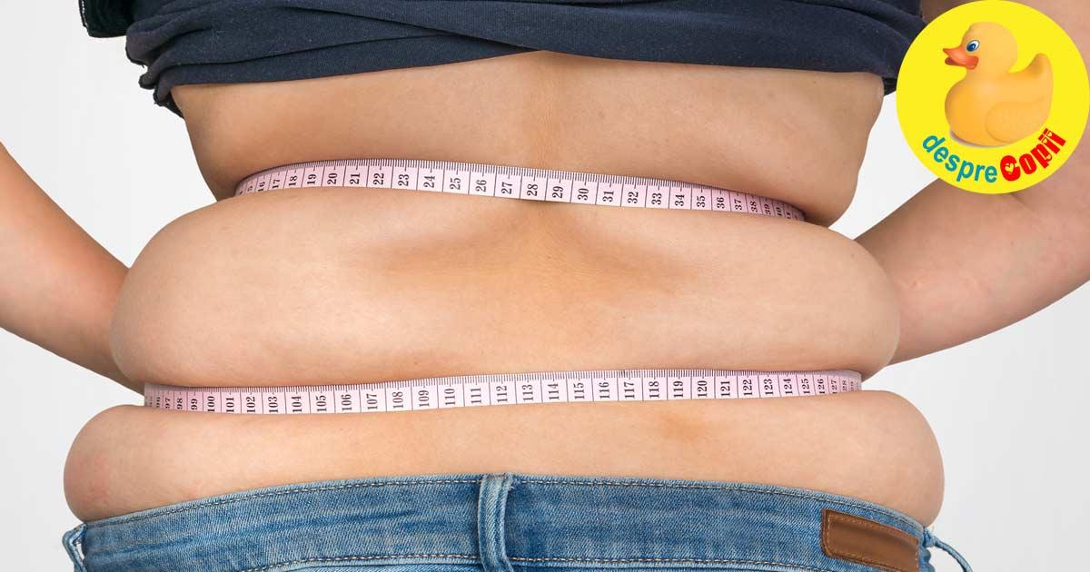 Pierde kilogramele in plus pentru copilul tau - afla de ce