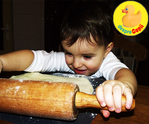 Reteta de pizza de casa - cu dragoste de copil