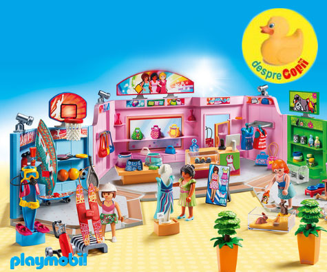 Invata-i pe cei mici despre cumparaturi cu colectia Playmobil Shopping