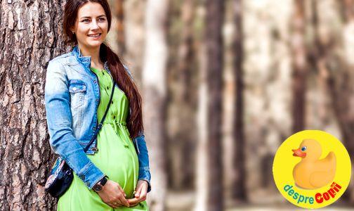 Plimbarile pot reduce incidenta diabetului in sarcina