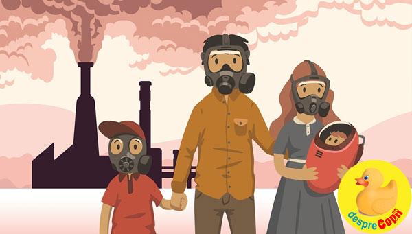 Efectele directe ale poluarii mediului asupra sanatatii