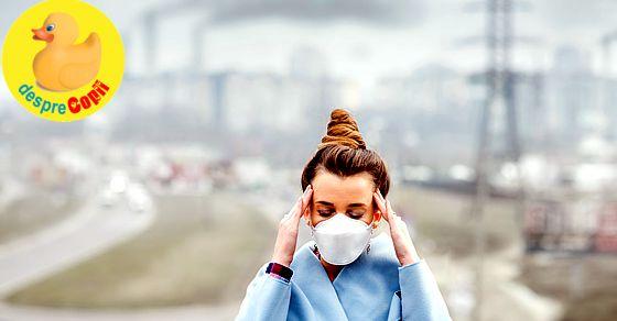Poluarea poate cauza nasterea prematura a bebelusului
