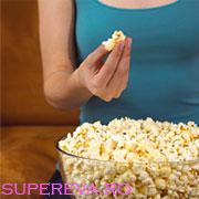 Popcorcorn-ul este bogat in antioxidanti