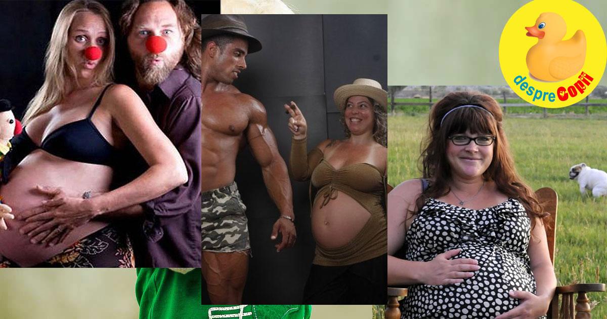 18 fotografii ciudate din timpul sarcinii - partea a II-a