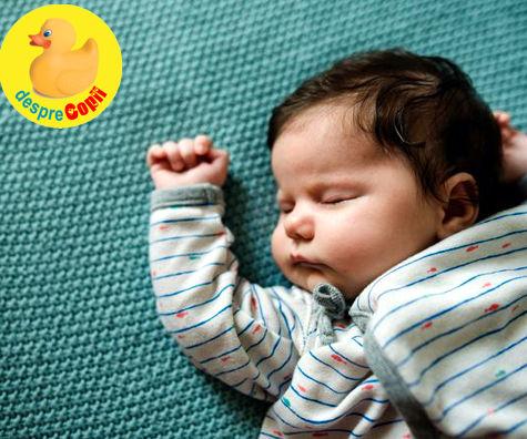 8 pozitii de somn si ce spune fiecare despre caracterul copilului