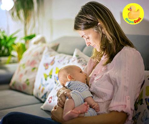 Care sunt cele mai bune pozitii de alaptare pentru tine, mamico?