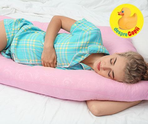 Pozitii de somn recomandate sau de evitat in timpul sarcinii