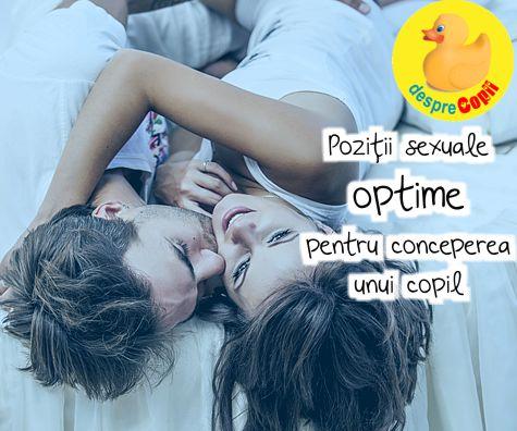 Pozitii sexuale optime pentru conceperea unui copil