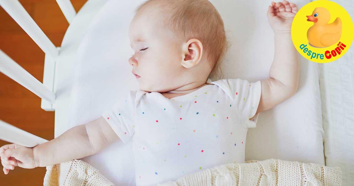 Iata care este pozitia corecta de somn pentru bebelusi si ce riscuri au alte pozitii - sfatul medicului pediatru