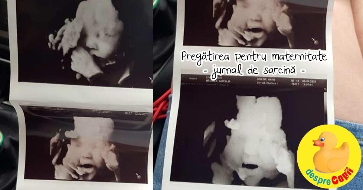 Pregatirea pentru maternitate, a doua oara - jurnal de sarcina