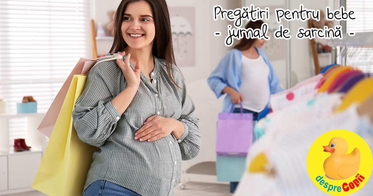 Saptamana 30: sunt in pregatiri intense pentru sosirea bebelui - jurnal de sarcina