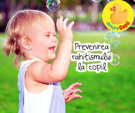 Prevenirea rahitismului la copil
