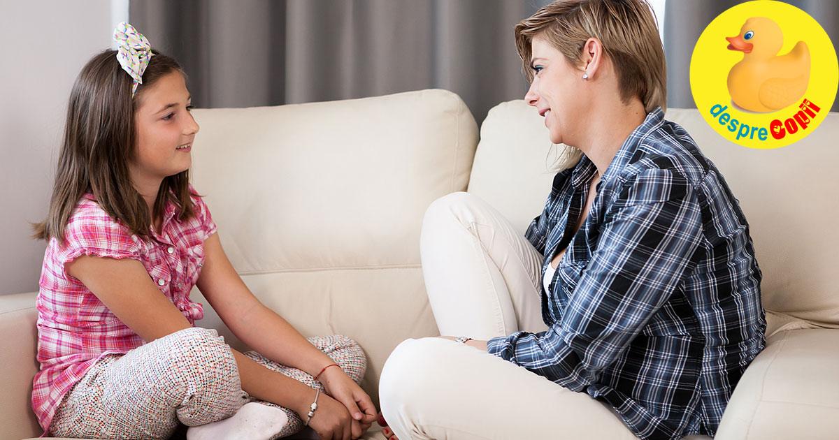 Despre menstruatie. Cum discutam cu fetita noastra despre acest eveniment din viata ei