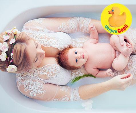 Prima scalda sau prima baita a bebelusului, o traditie romaneasca