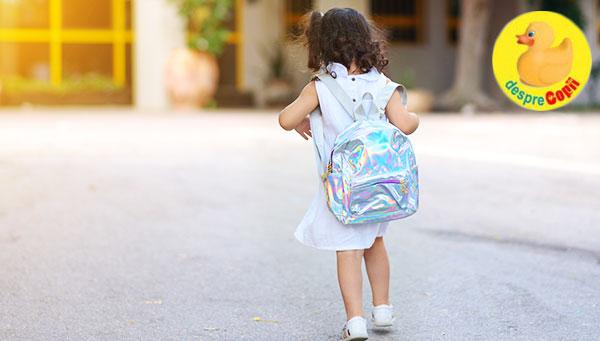 Inceperea scolii vine cu emotii mari pentru copii - iata cum ne pregatim copilul pentru o mare schimbare