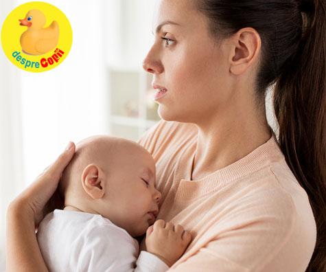 Iata de ce primele 8 saptamani ale bebelusului pot fi atat de grele pentru mami