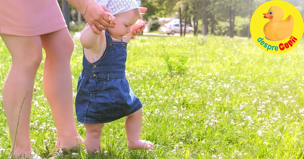 Primii pasi ai bebelusului: mituri si adevaruri