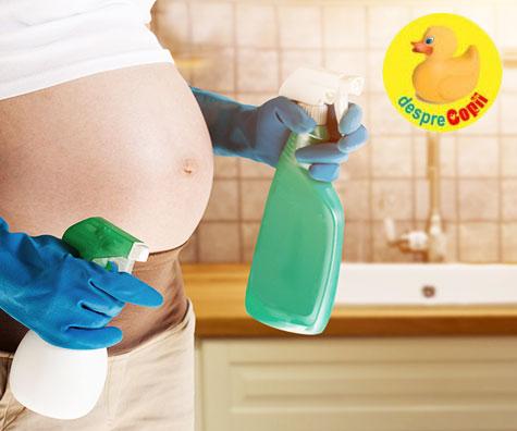 6 produse toxice de evitat in timpul sarcinii