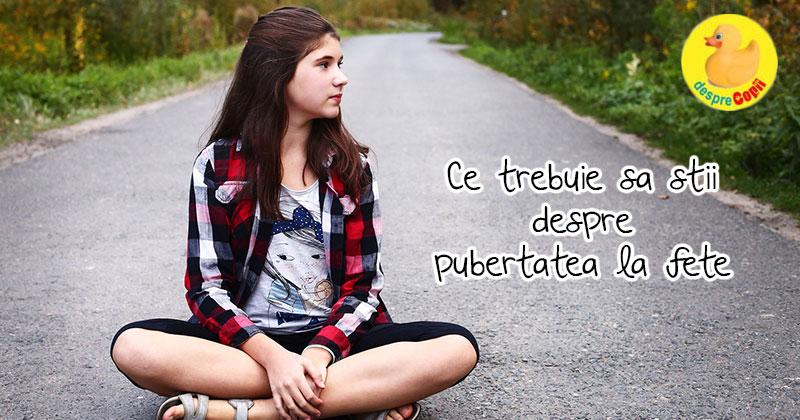 Pubertatea la fete. Despre emotii puternice, nesiguranta si maturizarea trupului - ghid pentru mamici
