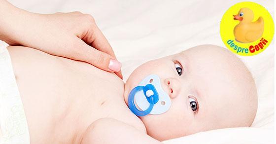 Trateaza raceala bebelusului cu ulei de nuca de cocos