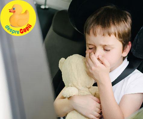 Ce cauzeaza raul de miscare la copil si ce putem face pentru a-l ajuta
