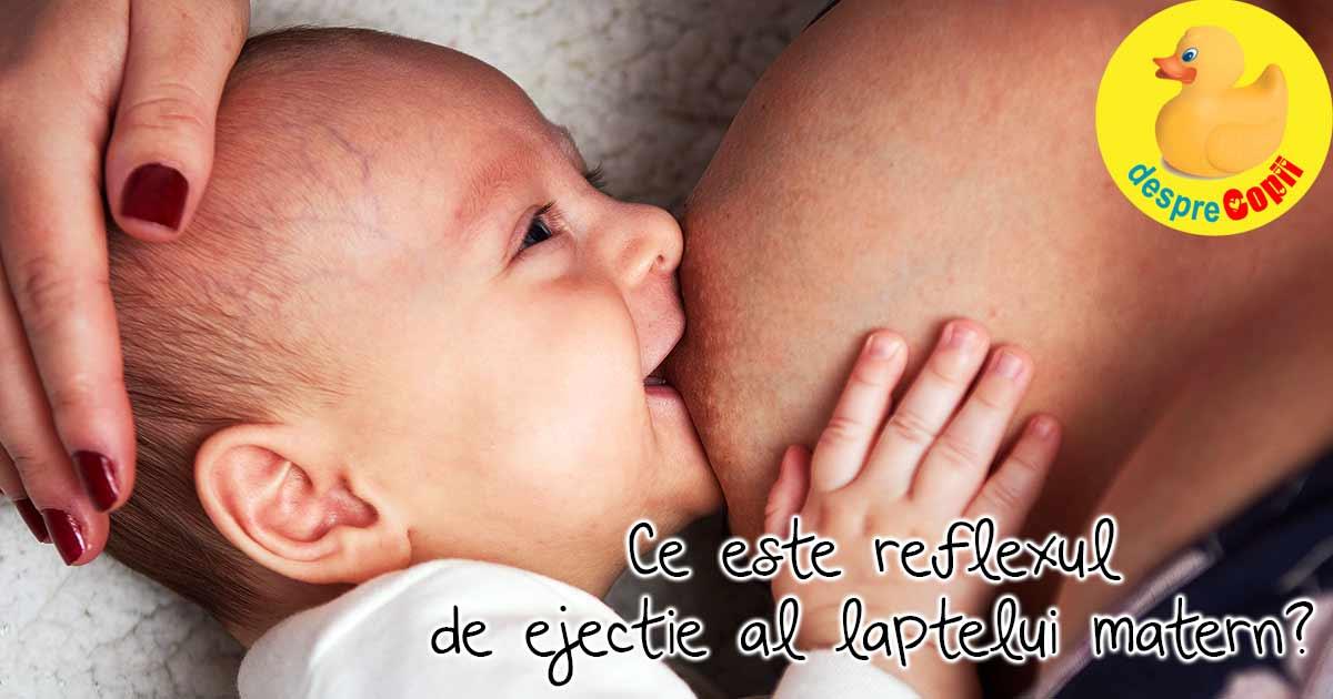Reflexul de ejectie a laptelui matern in timpul alaptarii. Iata cum il putem stimula.