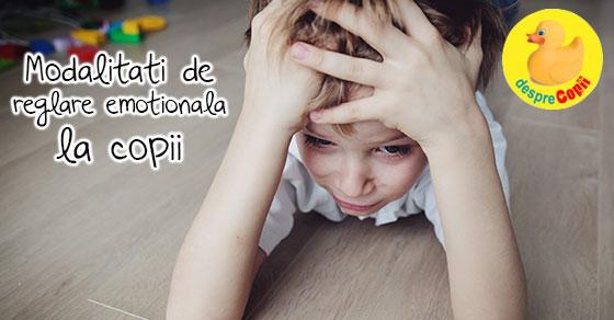 Modalitati de reglare emotionala la copii