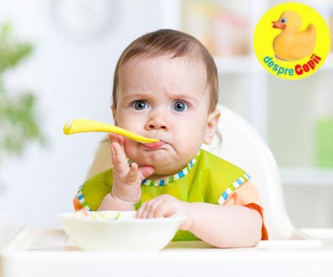 Reguli de introducere a alimentelor in diversificarea alimentatiei bebelusului