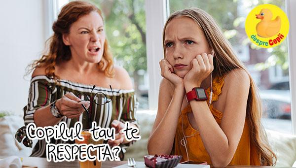 Respectul: de ce copiii trebuie sa isi respecte parintii si cum le schimbam atitudinea cand e nevoie