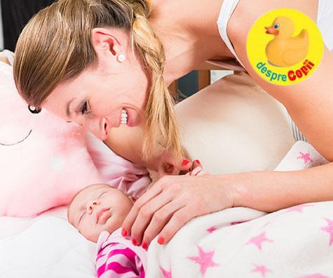 Frica unei mamici de nou nascut: cand ii asculti ingrijorata toata noaptea respiratia