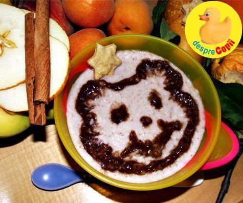 Cereale cu fructe si fursecuri crocante