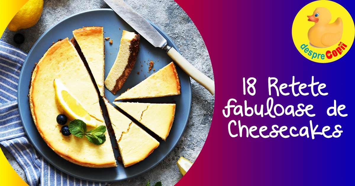 18 retete rapide de cheesecake