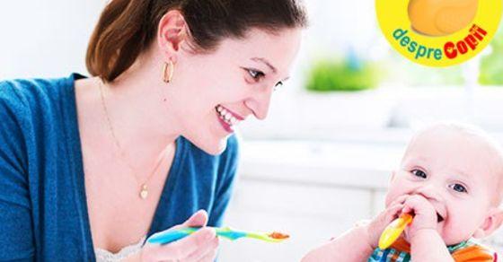 Retete pentru bebelusi de 6 luni: inceputul diversificarii