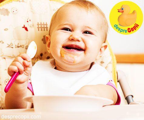 Retete pentru bebelusi de 8 luni: a treia luna de diversificare