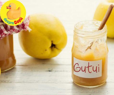 4 retete cu gutui, pentru bebelusi