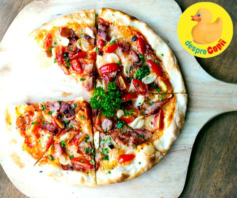 10 super retete de pizza de casa