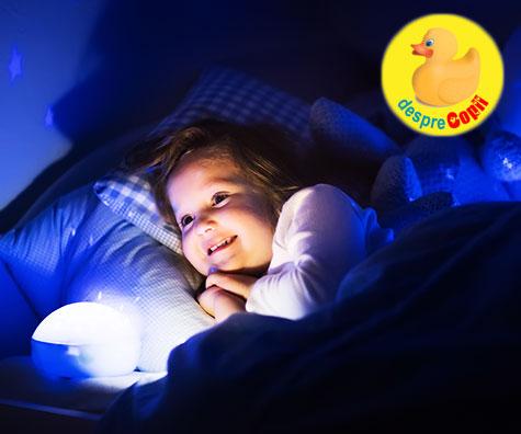 Cum adormim copiii creativi si plin de imaginatie