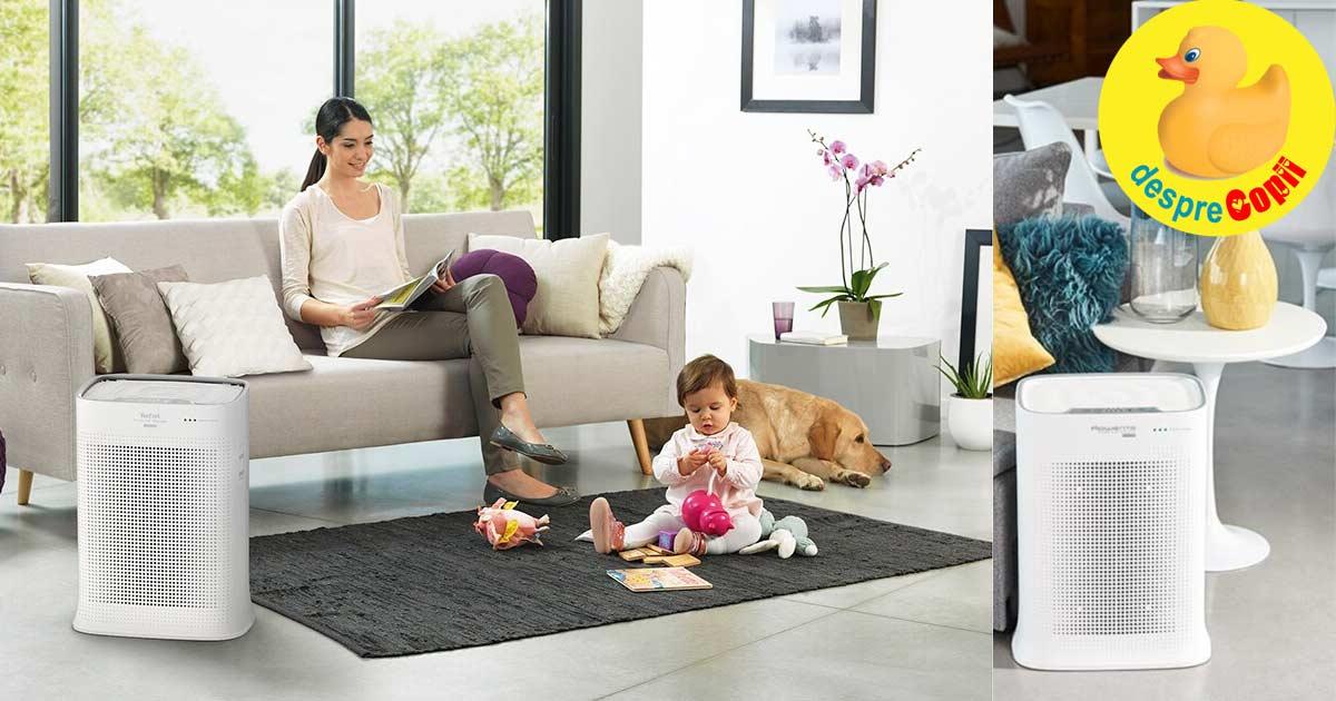 Copiii au nevoie de aer curat in casa. Iata cat de importanta e calitatea aerului din interior pentru sanatatea lor